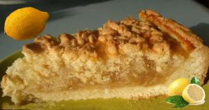 лимонный пирог, вкусно, просто, быстро, полезно, пирог, десерт, кулинария, рецепт, видео рецепт, видео,