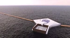 Плавучий комплекс для очистки океана от мусора